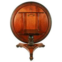 George IV Rosewood Centre Table (7 of 8)