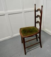 19th Century Chair with Original Carpet Seat by John Hodder (5 of 7)