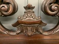 Late Victorian Carved Mahogany Chiffonier (14 of 17)