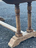French Bleached Oak Farmhouse Refectory Dining Table (4 of 18)