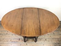 Early 20th Century Oak Gateleg Table (7 of 9)