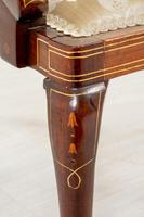 Very Pretty Art Nouveau Mahogany Elbow Chair (9 of 10)
