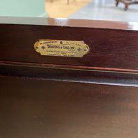 Quality Edwardian Mahogany Antique Bookcase by Waring & Gillow (3 of 8)