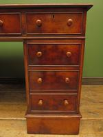 Reproduction Antique Pedestal Desk by Brights of Nettlebed (9 of 16)