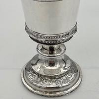 Mid 16th Century Antique Elizabethan Silver Chalice London 1565 Robert Darrant (3 of 7)