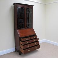 Mahogany Bureau Bookcase - Edwardian (3 of 6)