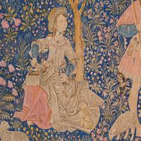 Large Antique Tapestry, French, Needlepoint, Decorative Wall Covering c.1920 (5 of 12)