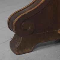 Pair of Gothic Revival Oak Standard Lamps (9 of 12)
