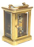 Superb Miniature French 8 Day Carriage Clock Lever Platform c.1880 Working (6 of 10)