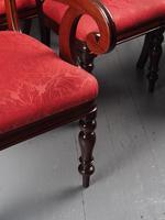 Set of 12 Scottish Mahogany Dining Chairs (8 of 18)