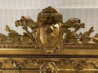 Large French Gilt Wall Mirror (4 of 15)