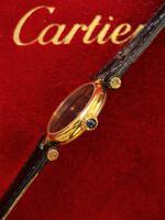Cartier Vendome Quartz Wristwatch Black Face (2 of 3)