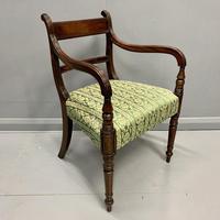 19th Century Regency Carver Armchair (2 of 7)