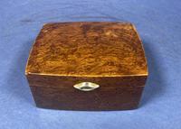 1920s Burr Cedar Box (10 of 11)