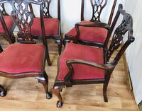 Set of Eight Oversized Dining Chairs (17 of 18)