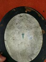 Rare Antique Royal Doulton Blue & White Mother & Girl Framed Oval Plaque C1910 (11 of 12)