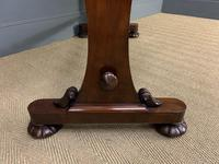 Early Victorian Mahogany Side Table (12 of 17)