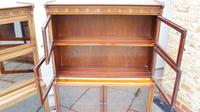 Pair of art deco minty sectional bookcases (7 of 14)