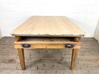 Victorian Pine Scrub Top Farmhouse Table (7 of 10)