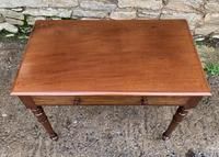 Antique Victorian Mahogany Side Table (6 of 17)