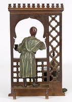 Franz Xavier Bergmann Austria Cold-painted Bronze Coffee Vendor Inkwell Figure (24 of 24)