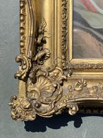 Verre Eglomise Portrait of Madonna (4 of 12)