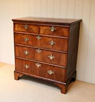 Mid 18th Century Walnut & Pine Chest of Drawers (2 of 10)