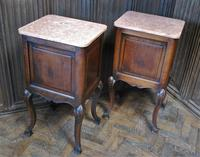 Pair of Substantial Oak Bedside Cabinets (8 of 9)