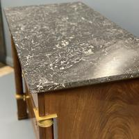 French Empire Commode Chest of Drawers with Marble Top (4 of 7)