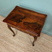 Spectacular Quality Victorian Rosewood Antique Work Table (4 of 8)