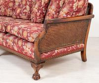 Good Quality Mahogany Bergere Suite (8 of 14)