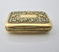 Wonderful cast silver-gilt vinaigrette Samuel Pemberton Birmingham 1816 (8 of 11)