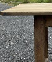 Large French Bleached Farmhouse Dining Table (22 of 26)