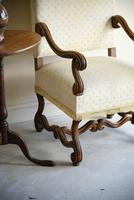 French Walnut Open Armchair (11 of 12)