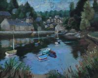 Boats on the river by Prue Sapp (7 of 7)