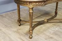 Gilt French Window Seat (6 of 7)