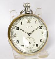 1940s Cyma Military Pocket Watch (2 of 4)