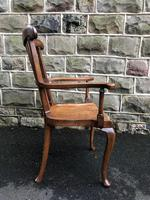 Antique Mahogany Windsor Style Country Armchair (6 of 7)
