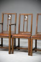 Set 5 Arts & Crafts Dining Chairs (11 of 12)