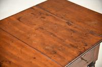 Antique Mahogany Drop Leaf Table (10 of 12)