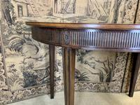 Pair of 19th Century Mahogany Console Tables with Carved Decoration (4 of 8)