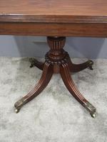 Scottish Mahogany Foldover Tea Table (9 of 11)