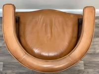 Charming Traditional Victorian Style Tan Brown Office Captains Bankers Chair (42 of 42)
