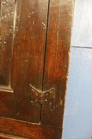 Late 17thC Oak Hanging Wall Cupboard. Mural or Spice Cabinet (5 of 17)