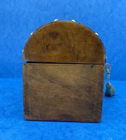 Victorian Brassbound Walnut Box c.1850 (7 of 10)