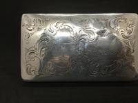 19th Century Silver Tobacco Case with Engraving (2 of 11)