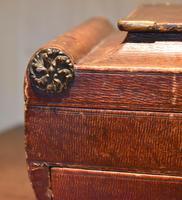 Fine Regency Leather Work Box (12 of 14)