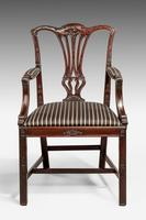 Chippendale Style Mahogany Elbow Chair (2 of 5)