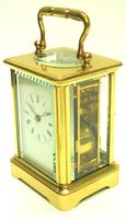 Fine Antique French 8-day Carriage Clock Timepiece - Interesting & Rare Size c.1870 (4 of 13)