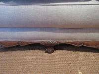 Top Quality Antique Walnut Three Seater Settee (4 of 10)